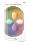 Beautyblender Micro Mini Correct Four - Beautyblender набор Micro Mini Correct Four с четыремя мини спонжами